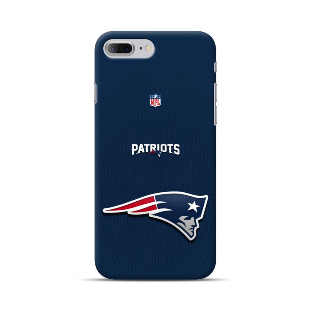 quality design 20663 1030f New England Patriots Team Logo NFL iPhone 7 Plus Case
