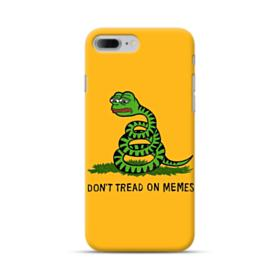 Pepe the frog don't tread on memes iPhone 7 Plus Case