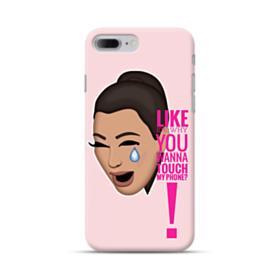 Crying Kim emoji kimoji meme  iPhone 7 Plus Case