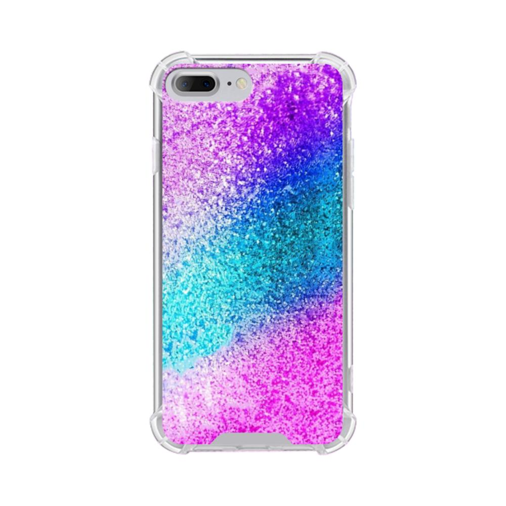 sports shoes e0219 fc91c Rainbow Glitter iPhone 7 Plus Clear Case