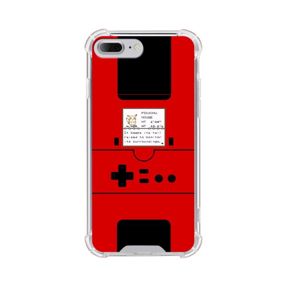 outlet store 995ec 1da70 Pokedex Vintage iPhone 7 Plus Clear Case