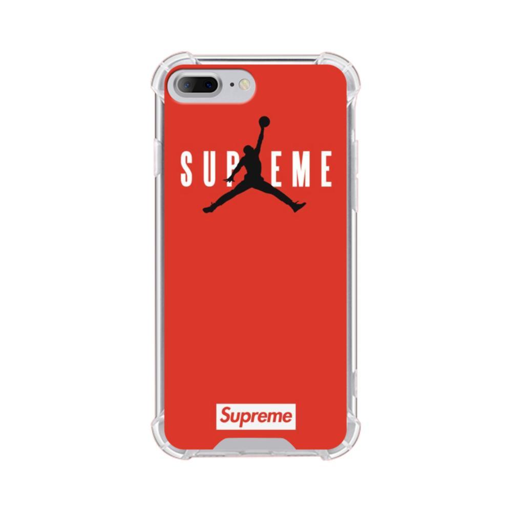 new arrival 56f2c 0db95 Supreme x Jordan iPhone 7 Plus Clear Case