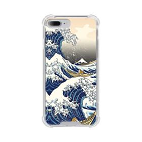 Waves iPhone 7 Plus Clear Case
