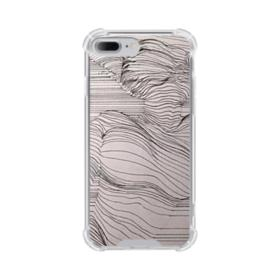 Stripe Drawing iPhone 7 Plus Clear Case