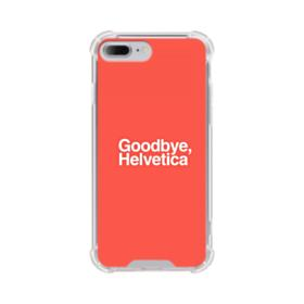 Goodbye Helvetica iPhone 7 Plus Clear Case
