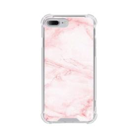 Pink Marble iPhone 7 Plus Clear Case