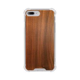 Red Oak Wood iPhone 7 Plus Clear Case