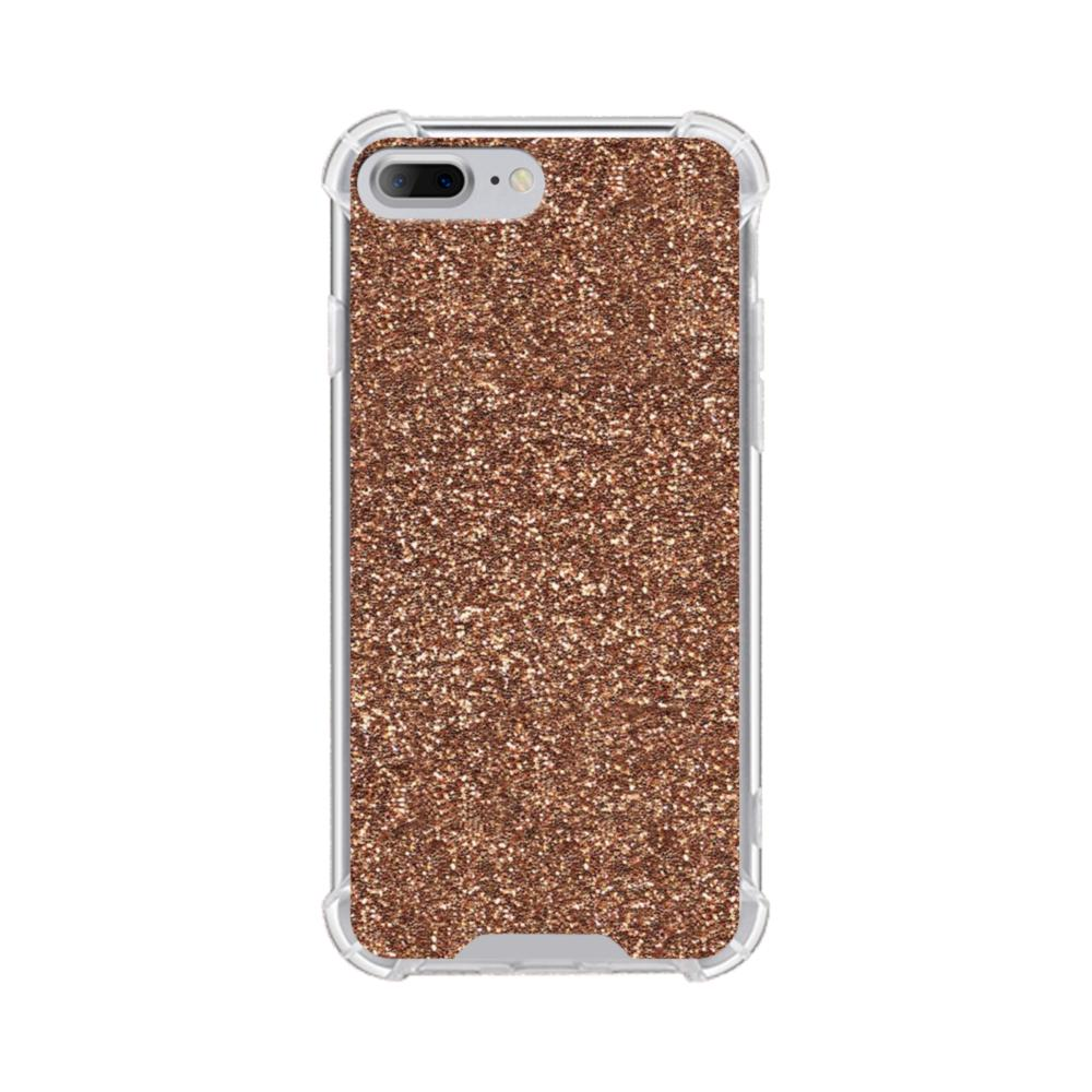 Gold Glitter iPhone 8 Plus Clear Case  4ca65f050346