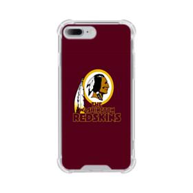 The Washington Redskins iPhone 8 Plus Clear Case