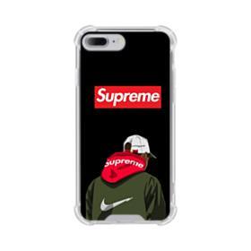 Supreme x Nike Hoodie iPhone 8 Plus Clear Case