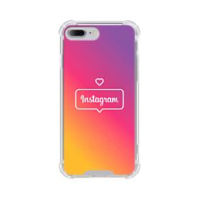 I Love Instagram iPhone 8 Plus Clear Case