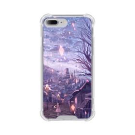 Fantasy Landscape Animation Art iPhone 8 Plus Clear Case