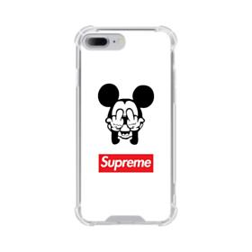 Disney Mickey Mouse x Supreme iPhone 8 Plus Clear Case