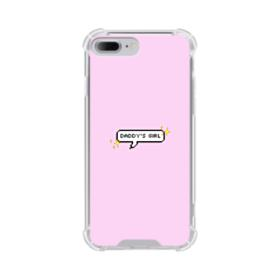 Daddy's Girl Quote iPhone 8 Plus Clear Case
