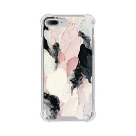Watercolor Aesthetic iPhone 8 Plus Clear Case