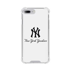 New York Yankees Script Font iPhone 8 Plus Clear Case