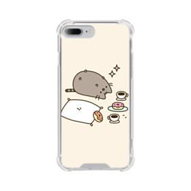 Pusheen cat iPhone 8 Plus Clear Case