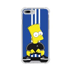 Simpson Bart X Adidas iPhone 8 Plus Clear Case