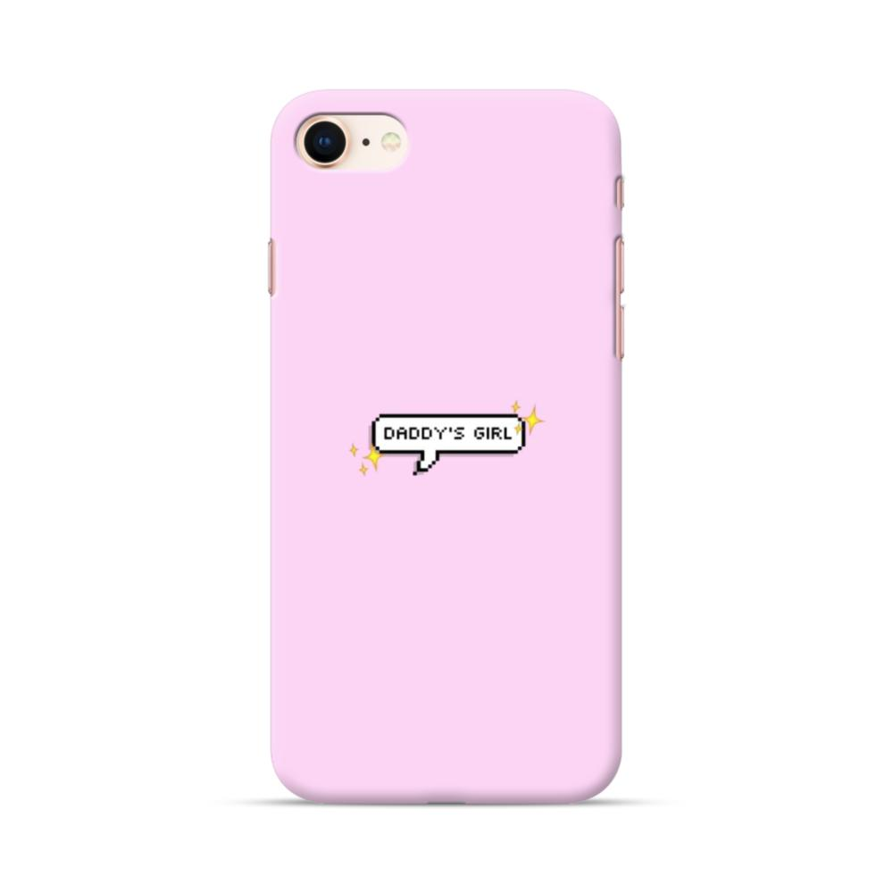 Daddy's Girl Quote iPhone 8 Case | CaseFormula