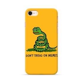 Pepe the frog don't tread on memes iPhone 8 Case
