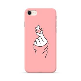 Snapping Finger A Heart iPhone 8 Case