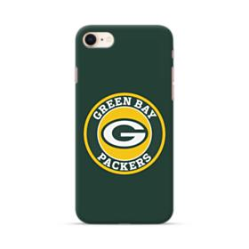 Green Bay Packers Team Logo Round iPhone 8 Case