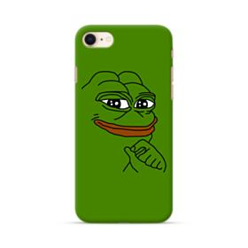 Smug Pepe Frog Funny Meme iPhone 8 Case