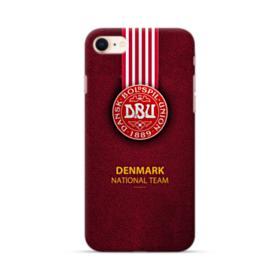 DBU Denmark National Football Team Emblem iPhone 8 Case