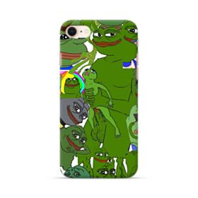 Rare pepe the frog seamless iPhone 8 Case