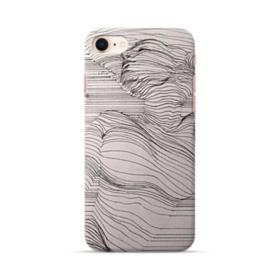 Stripe Drawing iPhone 8 Case