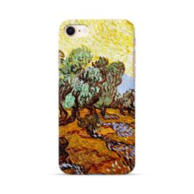 Olive Trees With Yellow Sky And Sun iPhone 8 Case