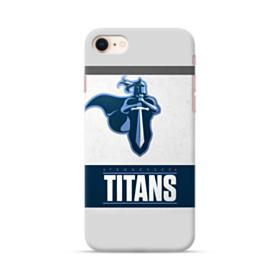 Tennessee Titans Team Logo Banner iPhone 8 Case