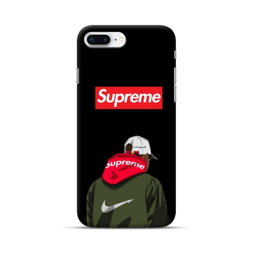 6e0042d2b2bbe Supreme Hoodie Boy iPhone 8 Plus Case