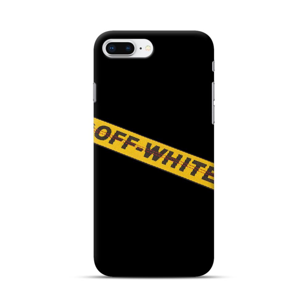 off white iphone 8 plus case