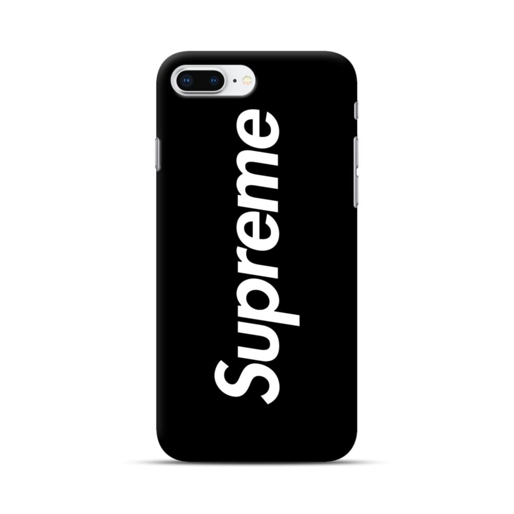 Supreme Black Cover Iphone 8 Plus Case