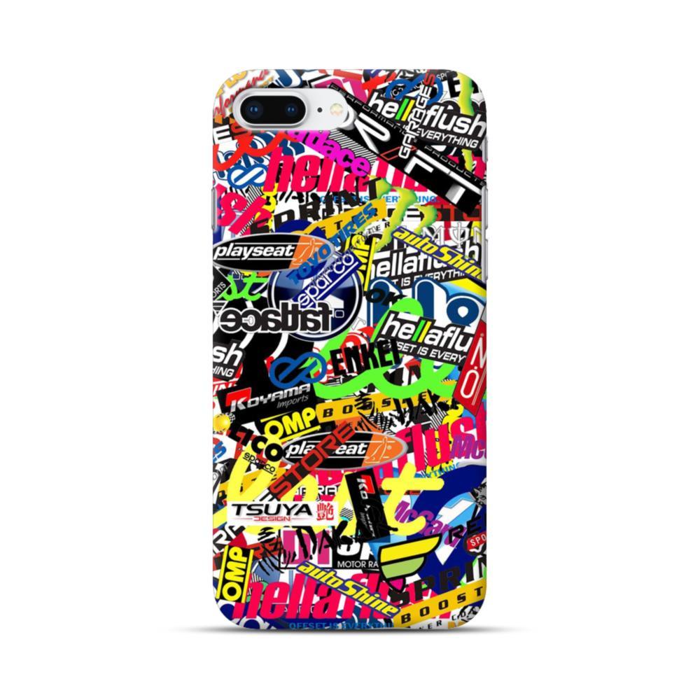 Brands graffiti iphone 8 plus case