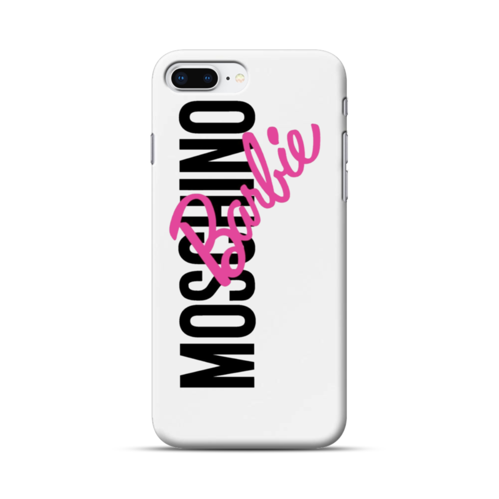 san francisco b1aaa 0ca65 Moschino X Barbie iPhone 8 Plus Case