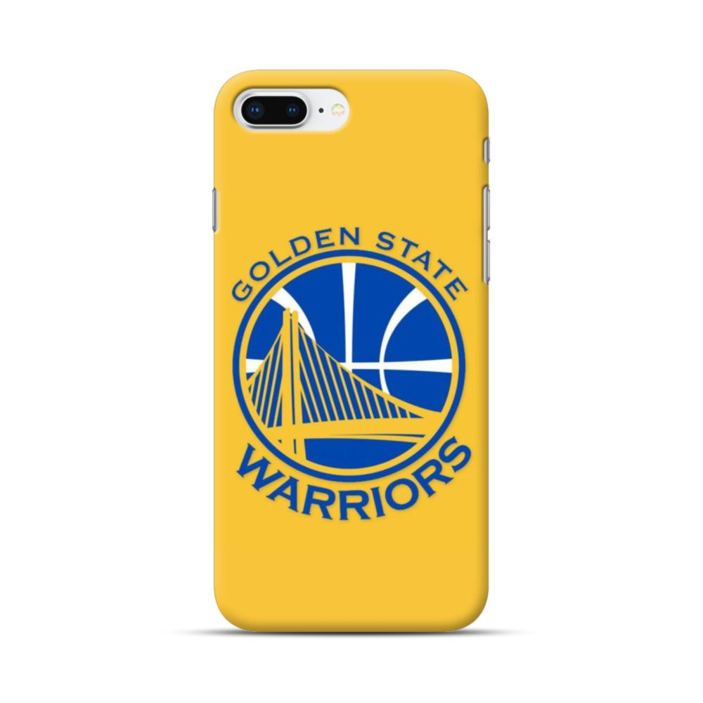 online store 312bd b70a7 Golden State Warriors Yellow iPhone 8 Plus Case