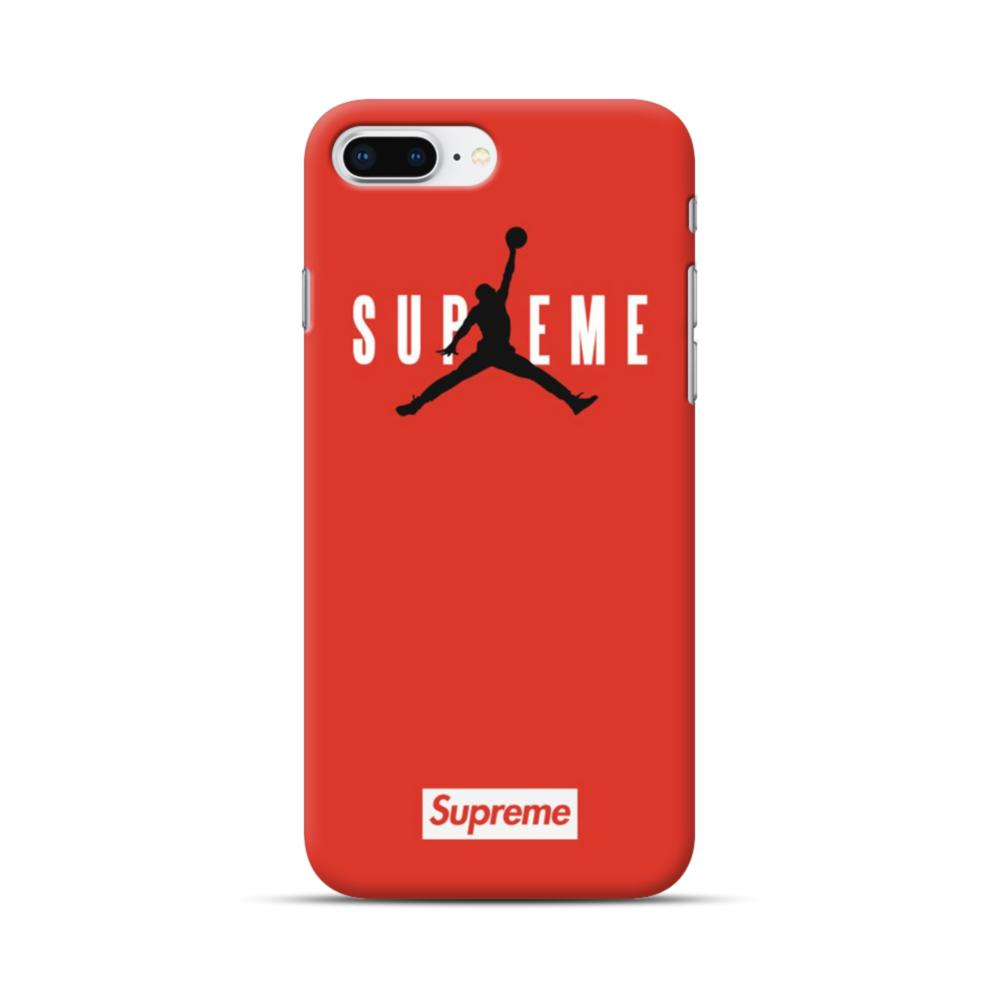 Supreme X Jordan Iphone 8 Plus Case