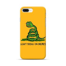 Pepe the frog don't tread on memes iPhone 8 Plus Case