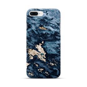 Navy Blue Sarrancolin Marble iPhone 8 Plus Case