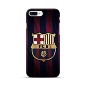 FC Barcelona Logo Fabric iPhone 8 Plus Case