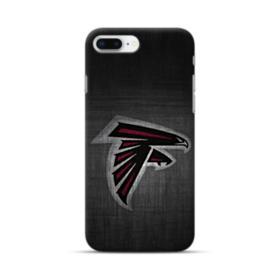 Atlanta Falcons Black Sketch iPhone 8 Plus Case