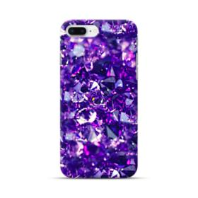 Purple Diamond Glitter iPhone 8 Plus Case