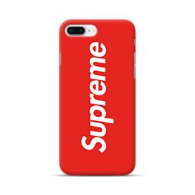 Red Supreme iPhone 8 Plus Case