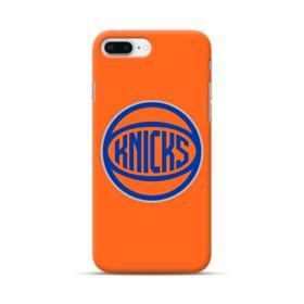 New York Knicks Team Logo Orange Basketball iPhone 8 Plus Case