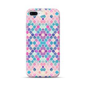 Rainbow Pastel Watercolor Moroccan Fabric iPhone 8 Plus Case