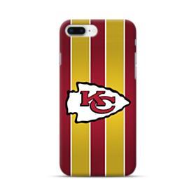 Kansas City Chiefs Vertical Stripes iPhone 8 Plus Case