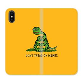 Pepe the frog don't tread on memes iPhone X Wallet Leather Case