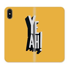 Yeah Sign iPhone X Wallet Leather Case